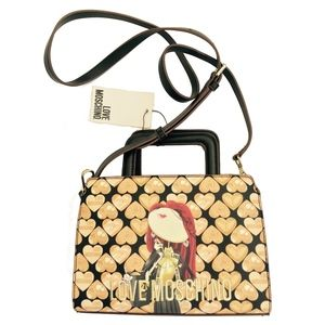 🆕Amazing LOVE Moschino Digital Print Crossbody Bag